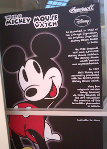 Mickey Mouse Watch Poster