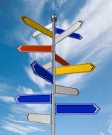 Multi-direction signpost