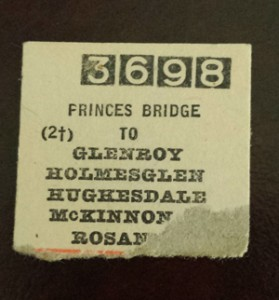 Train Ticket 1975
